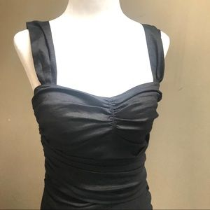 DKNY black fitted top.     Size XS / P